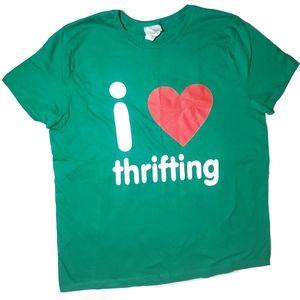 NWOT I Love Thrifting Tee